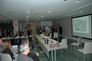 Los consejeros vieron un montaje audiovisual con imágenes de las reuniones del CGCEE de los últimos 25 años.