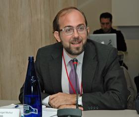 El representante ante el Pleno del CGCEE por la Comunidad de Madrid, Miguel Ángel Muñoz.