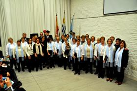 Coro del Patronato y grupo de declamación.