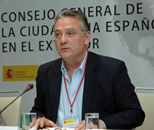 Alfredo Prada habló ante el CGCEE el pasado 27 de octubre.