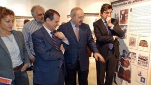Abel Caballero, Ramón Villares e Ignacio López-Chaves.