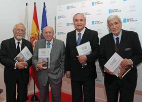 Luis Miguel Aparisi, Enrique Santín, José Ramón Ónega y Antonio Bonet