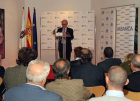 José Cerdeira presentó a los nuevos socios.
