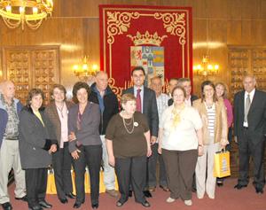 Fernando Martínez Maillo, ahora responsable del PP en el Exterior, en un acto con emigrantes de la Operación Añoranza cuando era presidente de la Diputación de Zamora.