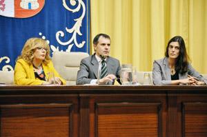 El secretario general José Manuel Herrero en las jornadas celebradas en Valladolid.
