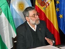 El profesor Guillermo Eduardo Pilía.