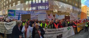 Asistieron retornados llegados de diversas partes de España.