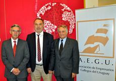 Celestino Duarte, Roberto Varela y Benito Grande.