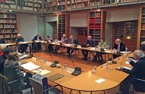 Sesión plenaria del Consello da Cultura Galega celebrada el pasado 3 de diciembre.