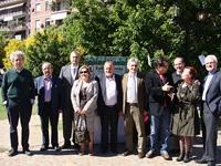 La delegación gallega que acudió a Buenos Aires.