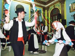 El conjunto 'Danza isleña de Pozas'.