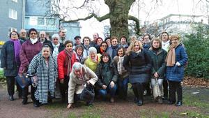 Foto de grupo de los participantes en el seminario.