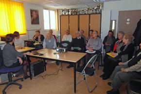 Una de las sesiones del seminario.