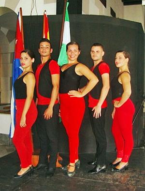 Actuó el grupo 'Fe Andaluza'.