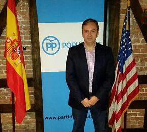 Juan José Núñez, secretario general del PP en Estados Unidos.