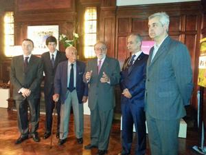 El presidente de la Federación, Francisco Lores, repasó la historia del MEGA en un emotivo discurso.