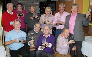 Los vencedores en las distintas competiciones.