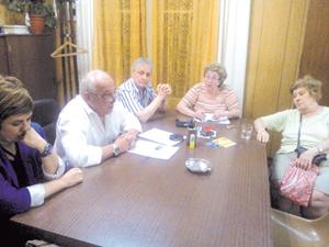 Miembros de la Comisión Promotora del movimiento.