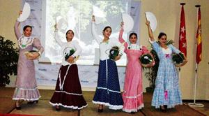 En el encuentro participó el Ballet Infantil de la Sociedad Cultural 'Rosalía de Castro',