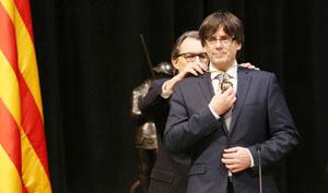 Investidura de Carles Puigdemont.