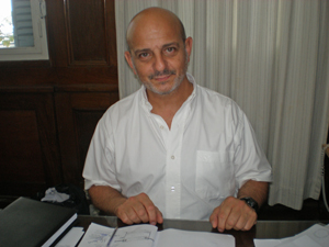 El nuevo interventor del Centro Gallego de Buenos Aires, Sergio Iribarren.