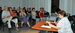Acto celebrado en el Patronato da Cultura Galega.