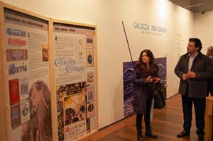 Miranda en la muestra 'Galicia Imaxinada'.