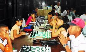 Torneo organizado por el Club de Ajedrez de la FAAC.