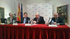 Antonio Fernández, Javier Aguilera, José Ramón Ónega y Julio Lage.
