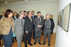 Carlos L. Bernárdez, Román Rodríguez, Miguel Ángel Escotet, Jesús Vázquez y Marisol Díaz.