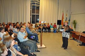 Acto celebrado en el Patronato da Cultura Galega de la capital uruguaya.