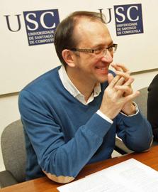 El secretario xeral de Cultura, Anxo Lorenzo, en un acto reciente.
