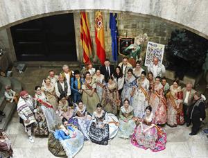 El president de la Generalitat, Ximo Puig, con los representantes de los Cevex.