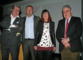 Juan Manuel Bonet, Stéphane François, Pilar Martinez-Vasseur y Justo Zambrana.