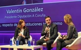 Intervención de Valentín González Formoso en el congreso 'Lo que de verdad importa'.