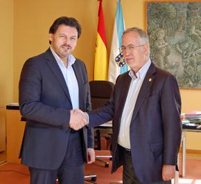 Rodríguez Miranda y Florencio Gulías.