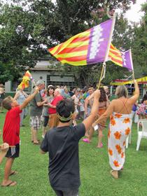 Una actividad de la Agrupación Mallorca de San Pedro.