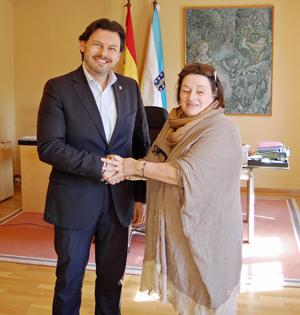 Rodríguez Miranda y María del Huerto Arcaus Sánchez.