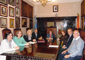Reunión con el CRE de Montevideo.