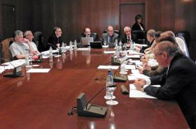 Reunión de la Comisión de Derechos Civiles y Participación del CGCEE.