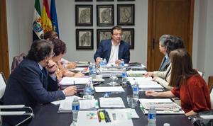 Consejo de Gobierno de la Junta Extremadura del martes 26 abril.