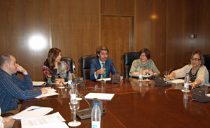 Eduardo Pellón, Miriam Herrero, Pedro Cortiñas Vázquez, Olga Vila León y Yolanda Gómez Echevarría.