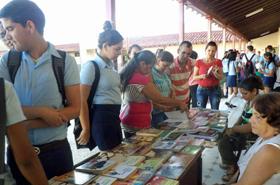 Una de las actividades realizadas en el centro educativo cubano.