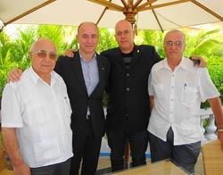 Antonio Fidalgo, Santiago Camba, Sergio Toledo y Julio Santamarina.