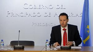 El consejero de Presidencia y Participación Ciudadana, Guillermo Martínez, informó de lo tratado en la reunión del Consejo de Gobierno del jueves 19 de mayo.
