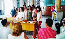 Se alzaron con los premios la tortilla de patatas de  'Hijos de Lorenzana' y la tarta de Santiago de 'Unión Trivesa' y 'Ferrol y su Comarca'.