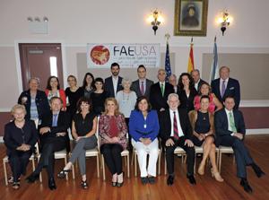 Asistentes al II Congreso de Asociaciones Españolas en Estados Unidos.