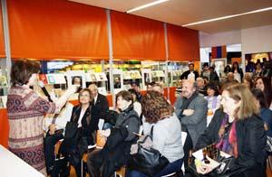 Uno de los eventos organizados por la Xunta en la Feria del Libro de Buenos Aires.