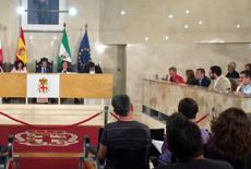 La propuesta fue defendida por la concejala socialista Consuelo Rumí, que en su día fue secretaria de Estado de Inmigración y Emigración.