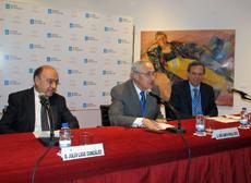 Julio Lage, José Ramón Ónega y Blas Rivas.